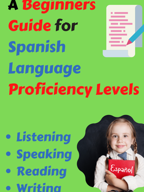 Spanish proficiency level report