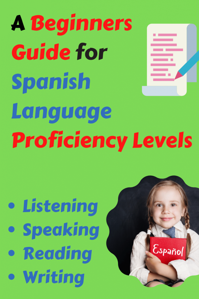 Guide about spanish language proficiency levels