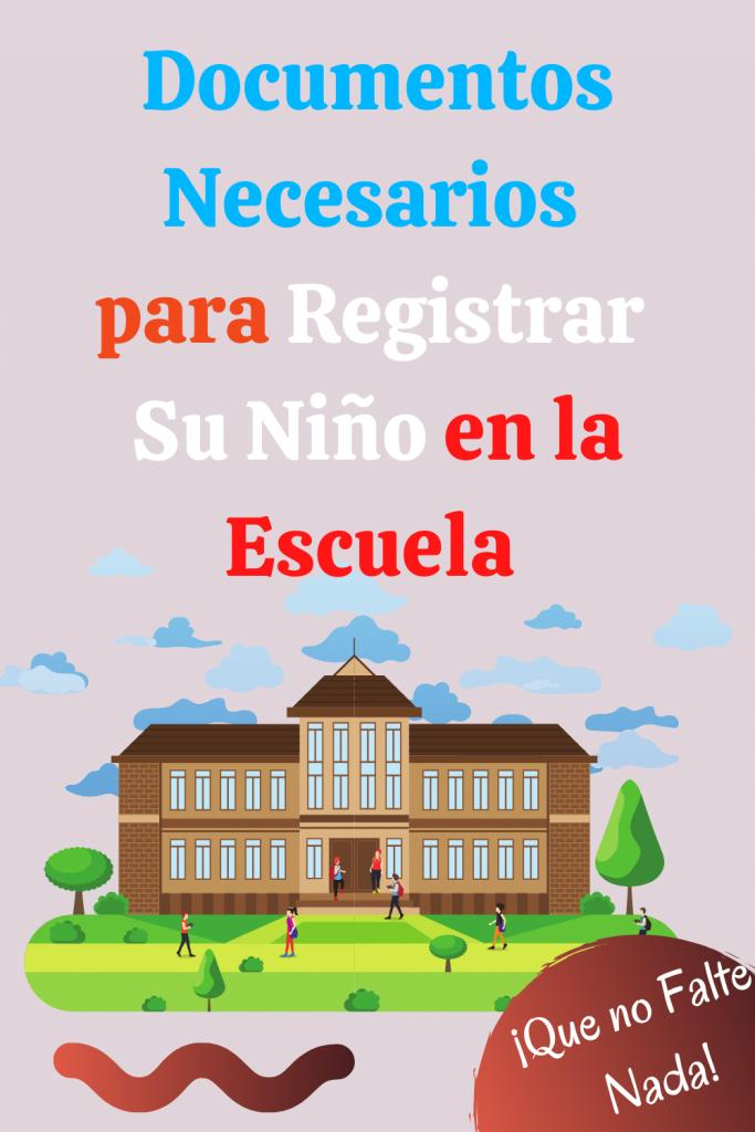 registracion de nueva escuela