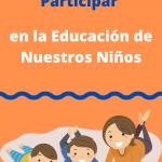 Participar en la educación de su hijo