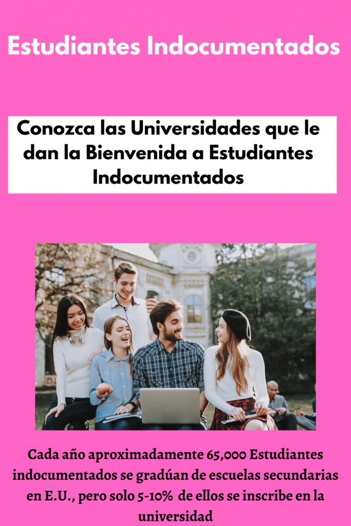 Imagen con estudiantes en universidad