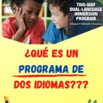programas de dos idiomas