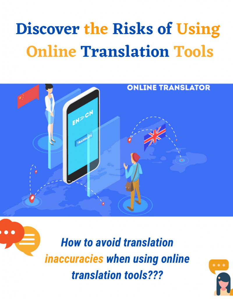 using online translation tools