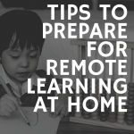 remote learning at home