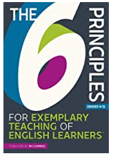 the 6 principles of exemplary teaching of english  learners book