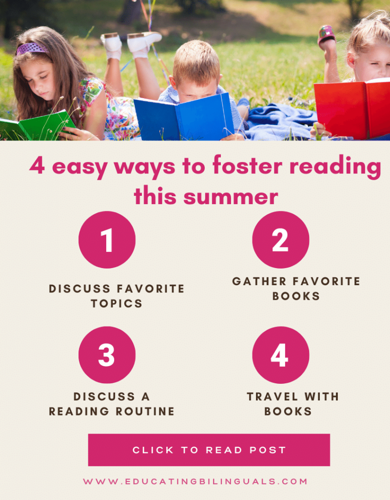 reading during summer